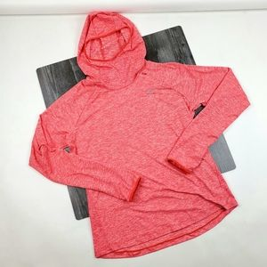 Womens Nike Element Hooded Shirt Size L